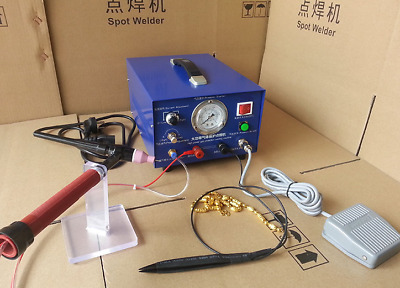 Quality 80A 400W Pulse Spot Welder  Argon protection Welding Jewelry ONLY 220V