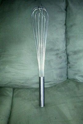 """Vollrath Commercial French Stainless 18"""" Whisk Whip 47018"""
