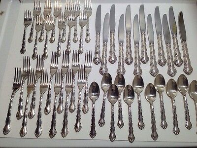 Reed & Barton Tara (1955) Sterling Silver Flatware Set - 48 Pieces - Service 12
