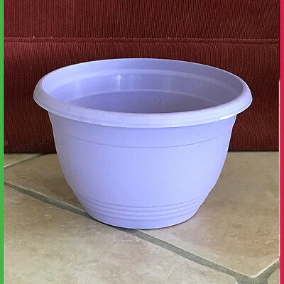 200mm Plant Pot / Bowl Lavender - Qty 4, 10 or 20. For Succulents Orchids Herbs