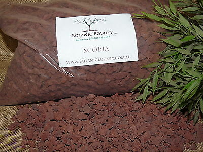 Scoria 10mm -  Red Porous Rock, Growing Media, Garden, Pots, Cactus, Succulent