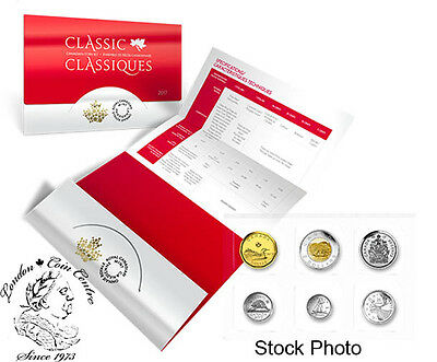 Canada 2017 Uncirculated/Proof-Like Coin Set