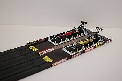 Ho Slot Car AUTOWORLD Accessory,TOP FUEL DRAGSTER STAGING AREA  has 12 LED LIGHT