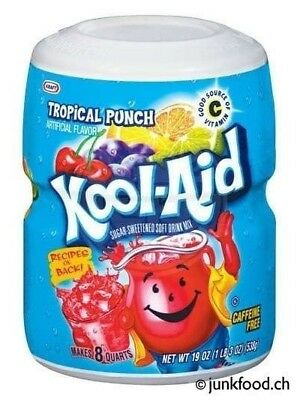 Kool-Aid Tropical Punch Drink Mix (539g)