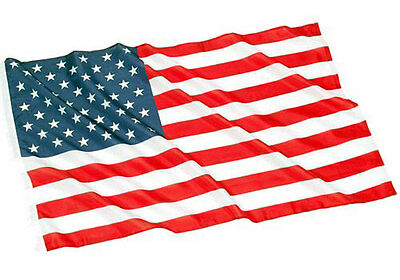3' x 5' ft American Flag USA US Sewn Stripes Embroidered Stars Brass Grommets