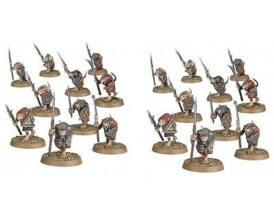 Skaven CLANRATS ARMED WITH SPEARS Spire of Dawn - Age of Sigmar