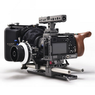 TILTA ES-T27-C Sony Alpha a6000 a6300 a6500 rig Cage baseplate + Matte box +FF
