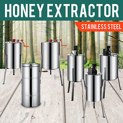 Honey Extractor Electric/manual Ss 120W Motor Beekeeping Plastic Gate Hot