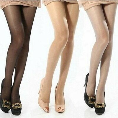 NEW Women Sheer Transparent Tights Pantyhose Stockings Hosiery One Size 4 Colors