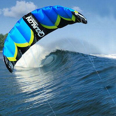 2 Sqm Dual Line Traction Kite Powerkites for Beach Boarding Sport Wind Game