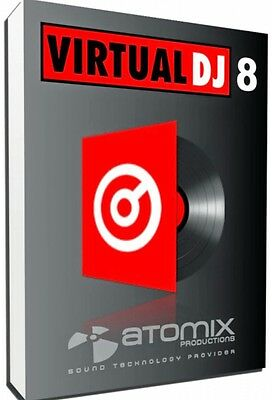 Virtual Dj PRO 8.2 windows instant Download