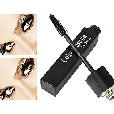Hot Lady Waterproof Curling Colorful Mascara Extension Eye Lashes Cosmetics