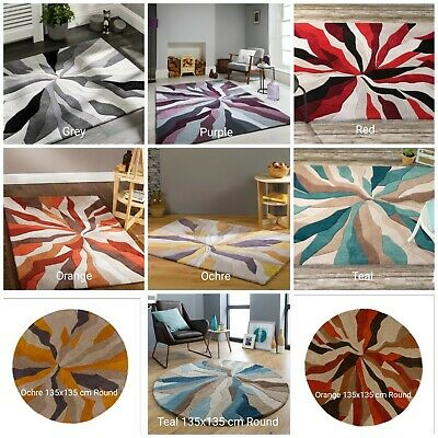 Modern Heavy Weight High Quality Handtufted Soft Rug Great ColoursThick Carpet