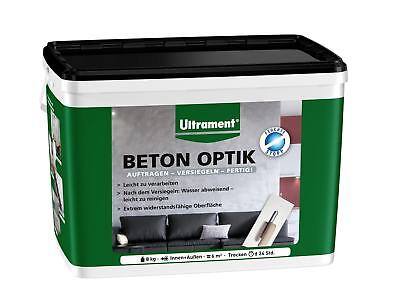 Ultrament Beton Optik 8 kg betongrau