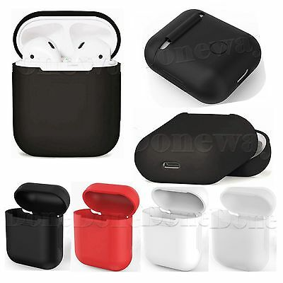 Silicone Case Cover Shock Proof  Protective Skin Fr Apple AirPods Charging Case