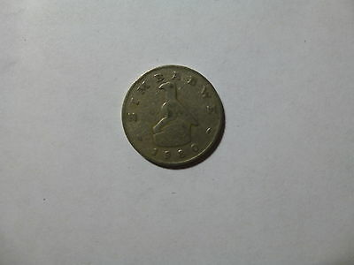 Old Zimbabwe Coin - 1980 50 Cents - Circulated