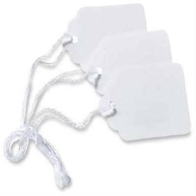 """Avery White Marking Tags, Strung, 2.1 X 1.4"""" Es, Pack Of 1000 US SELLER New"""