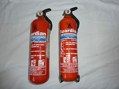 Fire Extinguishers X2 - Guardian - 1 Kg - Powder Type - Bs22 Location