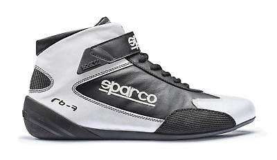 FIA Shoes SPARCO CROSS RB-7 Racing RB7 Boots Race White Black 8856 2000 Rally