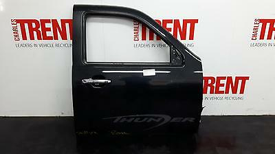 2009 FORD RANGER 4 Door Pickup Black O/S Drivers Right Front Door (Tag 429986)