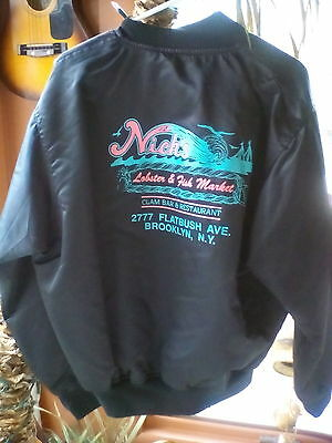 N.Y.C. Jacket : 'Nick's Lobster & Fish Market; Man or Woman's; PRICED -TO-SELL !