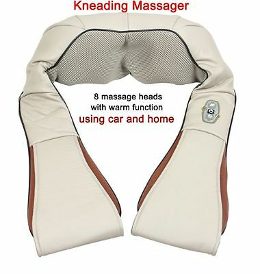 Health Care Pillow Kneading Neck Shoulder Back Waist Belly Foot Massager NEW