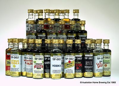 50 PACK Still Spirits Top Shelf essence YOU CHOOSE whisky bourbon rum vodka gin