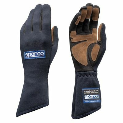 FIA Gloves SPARCO LAND CLASSIC Rally Race Driver Sport 8856 2000 Blue Racing