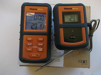 Remote Wireless Digital Thermometer For Food ,meat ,ovens And Bbq