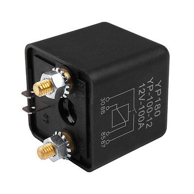 Car DC 12V 100A Relay 4 Pin RL180 Heavy Duty Install Amp Split Chargeover