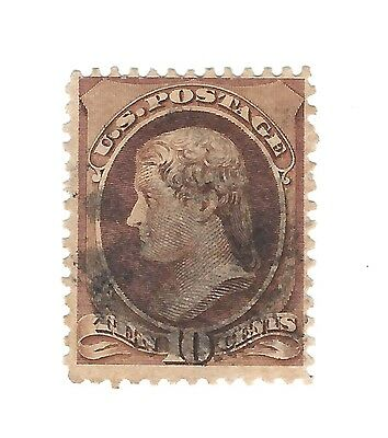 mjstampshobby 1870 US SG Nr 210 Used Hinged Very Fine Cond (Lot625)