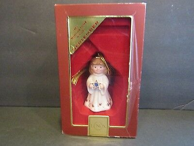 LENOX American By Design~My Birthstone Angel SEPTEMBER Ornament With Gold Hanger