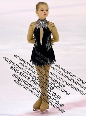 Stylish Ice Skating Dress.Figure Skating Competition Dress.Baton Twirling Custom