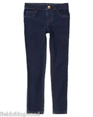 NWT Gymboree Blue Jeggings Girl Pull on Pants 7 8 10