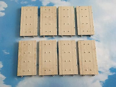 8X Vintage Triang Minic Ships M836 Quay Straight Diecast Port Job Lot