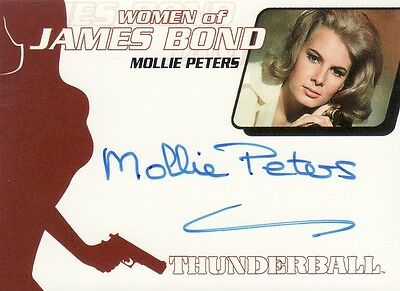 Quotable James Bond Molly Peters as Patricia Fearing WA20 Auto Card