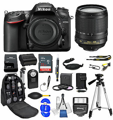 NIKON D7200 DSLR Camera with 18-55mm Lens and Ultimate