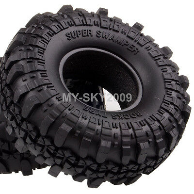 "4pcs 1.9"" Supper Swamper Rocks Tyre Tires 7035 For 1/10 RC Climbing Rock Crawler"