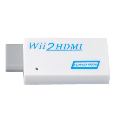 For Wii to HDMI Wii2HDMI Game TV Monitor HD Converter Upscaling Adapter GA57