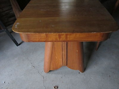 Mid-Century Modern, table with 6 chairs, vey nice