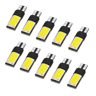10x 24SMD COB T10/W5W Car Bulbs LED Error Free Canbus White Reading Light MA739