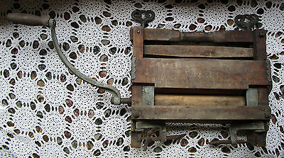 Antique Anchor Brand Wringer Lovell Manufacturing Co Working Condition 1890s