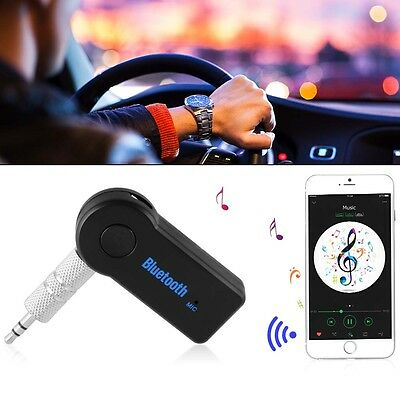 Wireless Bluetooth Receiver 3.5mm AUX Adapter Car Music Stereo Hands-Free MA913