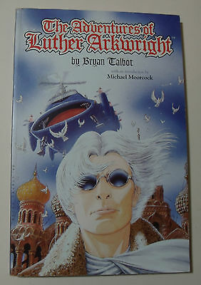 The Adventures Of Luther Arkwright GRAPHIC NOVEL Bryan Talbot Michael Moorcock