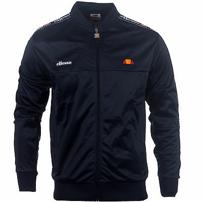 Ellesse Heritage Squad Mens Retro Fashion Polyester Track Jacket Top
