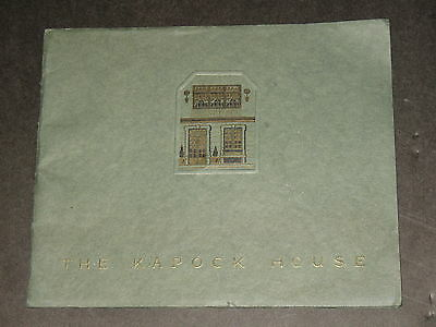 scarce 1920 BOOKLET ~THE KAPOCK HOUSE, PHILADELPHIA~ EXHIBITION FURNISHINGS~RARE
