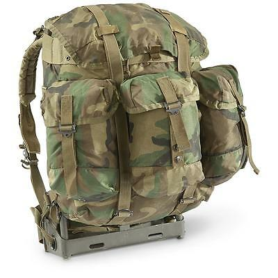 US ALICE Pack MEDIUM WOODLAND Rucksack Genuine Backpack Army Field Bag 40L
