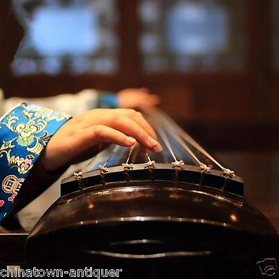 """48"""" Professional Guqin Chinese 7-stringed zither instrument Fu-hsi Style #4035"""