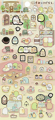 "San-X Sumikko Gurashi ""Cafe"" Stickers (#1)"