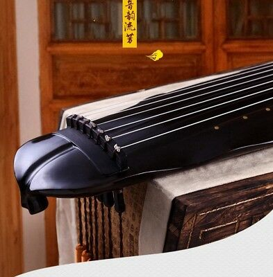 """48"""" Professional Guqin Chinese 7-stringed zither instrument Plantain-leaf #4051"""